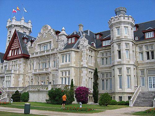Palacio de la Magdalena, en Santander, precioso