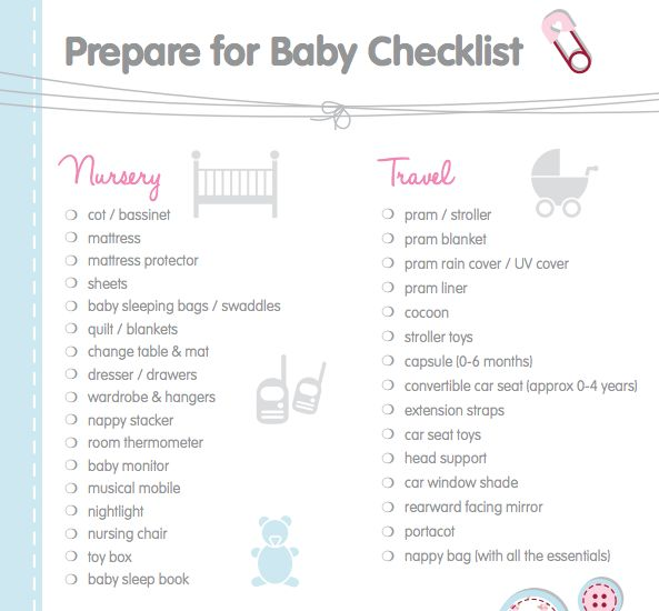 Planning for a new arrival? Get a baby registry checklist at shinobitech.cf This printable registry checklist helps to select all the baby gear and essentials you???ll need.
