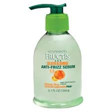 Garnier Fructis Anti-Frizz Serum with Moroccan Oil - my natural curls crave this stuff!