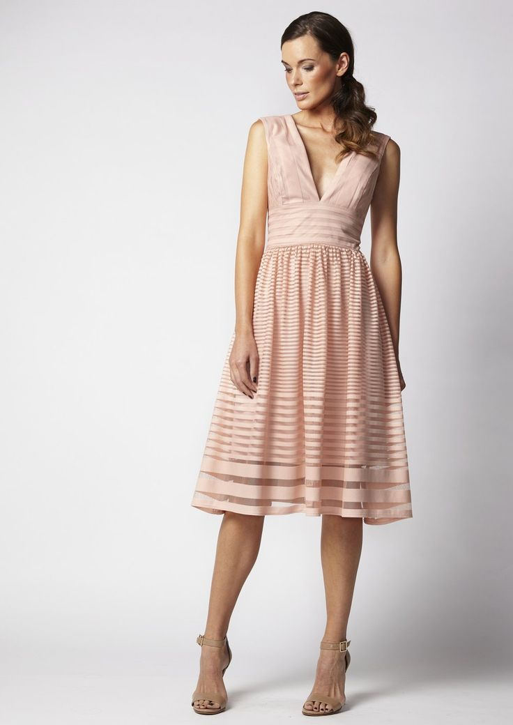 Very Very - Ursula Dress In Rose