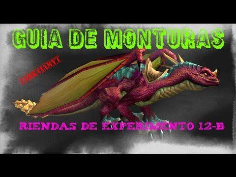 World of Warcraft | Guía monturas | Alma de dragón | Parte 1 | Experimen...