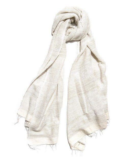 Écharpe en coton Dana Esteline : 100% fait main, 100% éthique !