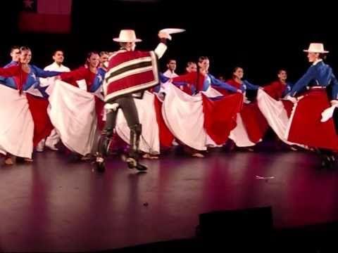 Ballet Folklorico de Chile.. Nacional dance La Cueca