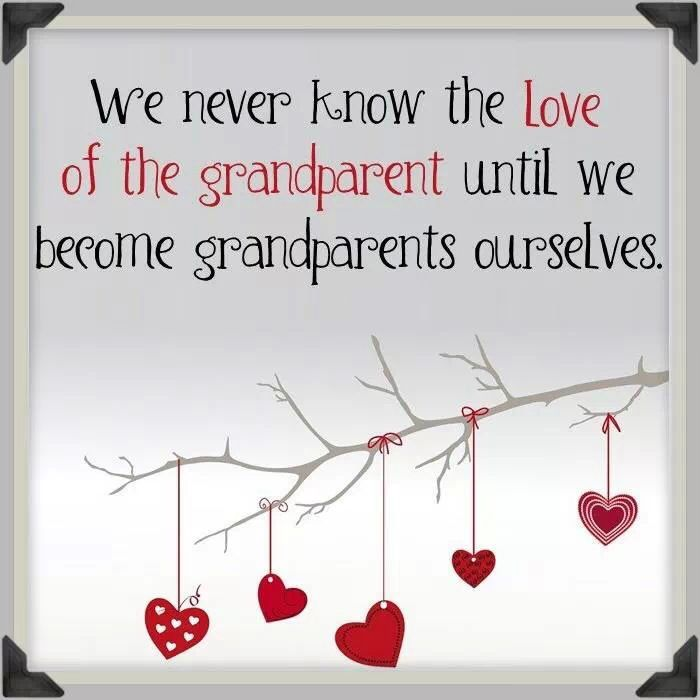 Yes, people tried to tell us that it is a love like no other, but you don't get it until your first grandbaby is born.