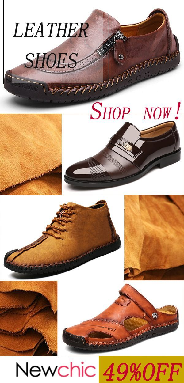 Shop NC Men, leather your feet up