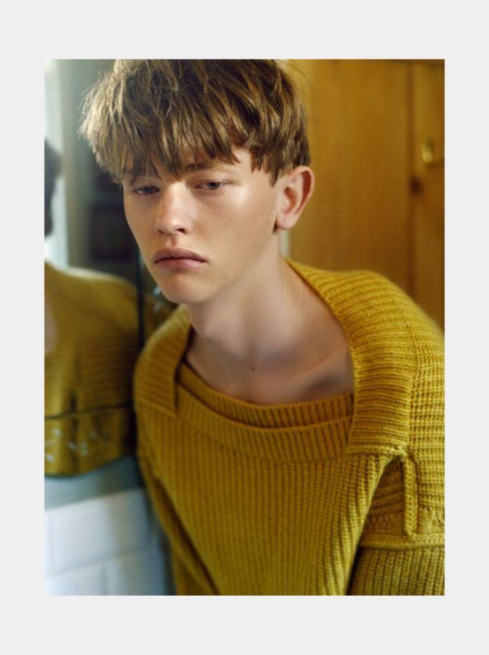 Robbie McKinnon  by photographer Yann Faucher for SSAW Magazine.