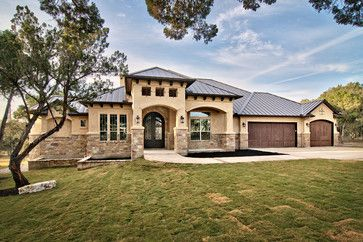 *ABOVE THE FRONT DOOR. CAN WE DO BUMP OUT?* Stone Stucco Exterior Design Ideas, Pictures, Remodel, and Decor - page 11