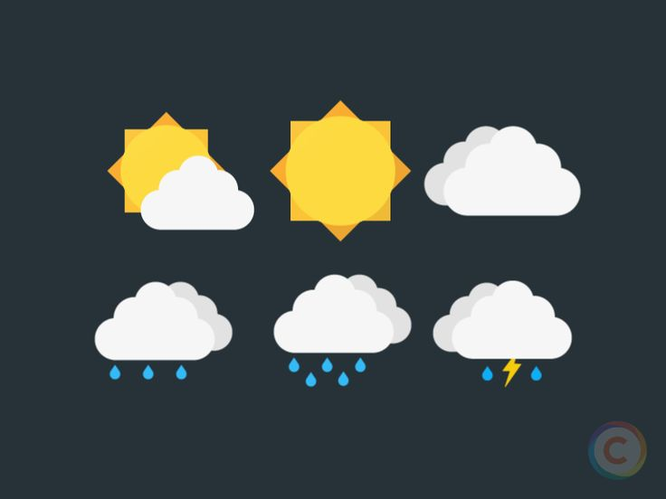 Weather Icons - Colorcons