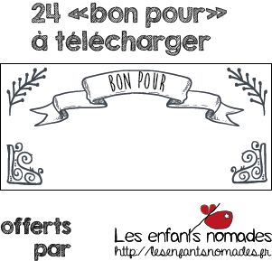 free printable des bon pour t l charger. Black Bedroom Furniture Sets. Home Design Ideas