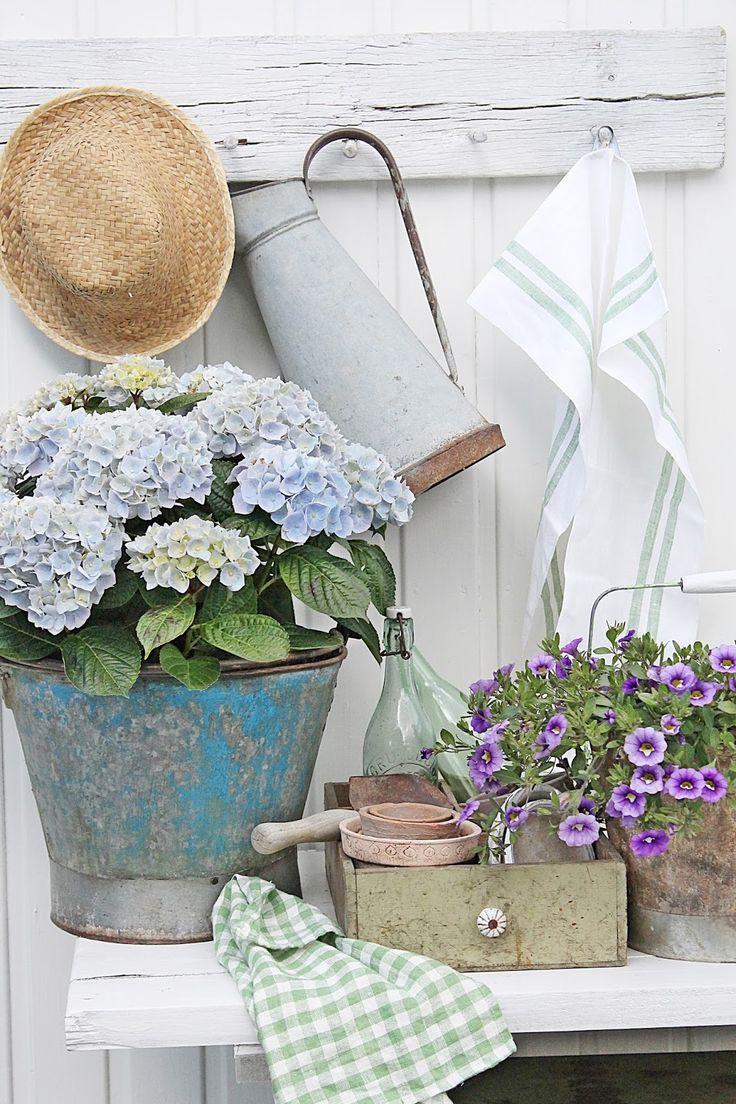 VIBEKE DESIGN: Sommer i blått og grønt !