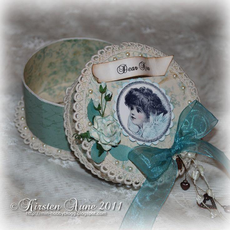 Kirstens Blogg: DT Stempelglede - Vintage Angel....
