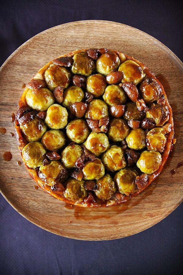 Tatin choux de Bruxelles (cuisine campagne)