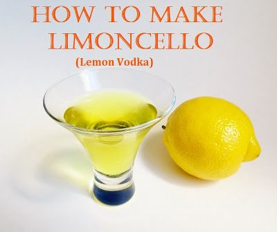 lemon infused vodka so incredibly tasty making limoncello infused ...