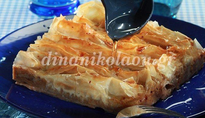 Πατσαβουρόπιτα σιροπιαστή