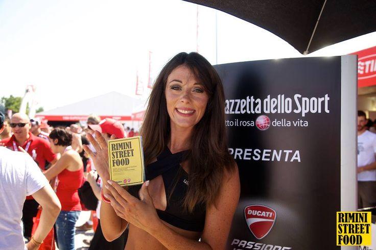 Rimini Street Food al World Ducati Week 2014 - i ritratti della gente!