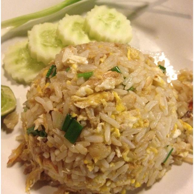 Thai-Style Fried Rice Recipe — Dishmaps