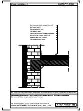 Pardoseala pe sapa de beton - detaliu deasupra unui subsol neincalzit, incalzire prin pardoseala AUSTROTHERM