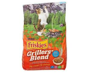 Claim a Coupon Good for a Free Bag of Friskies Grillers Cat Food