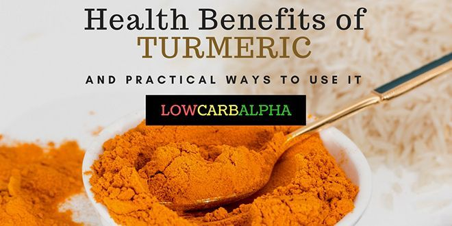 Turmeric is catching on as a superfood Check out the health benefits and 10 practical ways to use this wonderful earthy spice in your diet and lifestyle #healthy #turmeric #natural #lowcarbalpha #spice #nutrition #health
