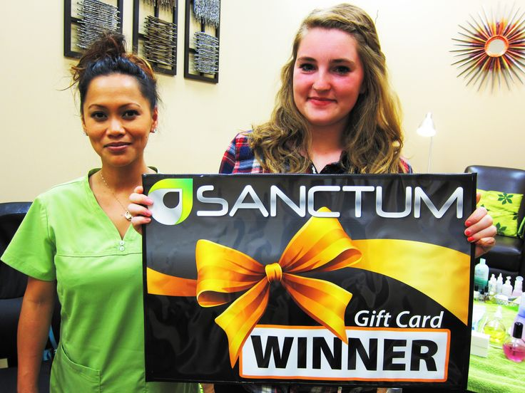 Congratulations Robynnlee Juhl - winner of #NailsON contest, a complimentary Manicure from Sanctum Salon & Spa!  Check our Facebook page every Tuesday and Friday for your chance to win complimentary Manicure and Wash & Set!