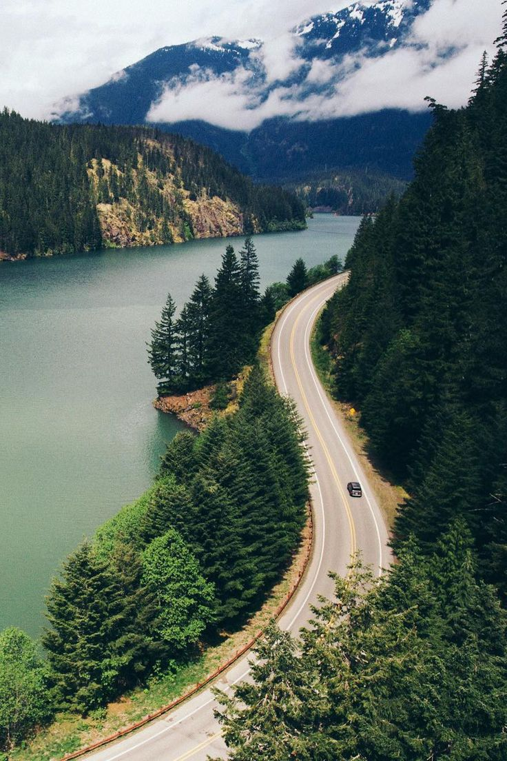 "banshy: ""Diablo Lake // Ryan Brien """
