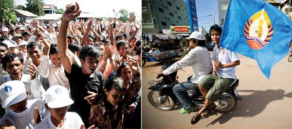 Getting young Cambodians involved in politics