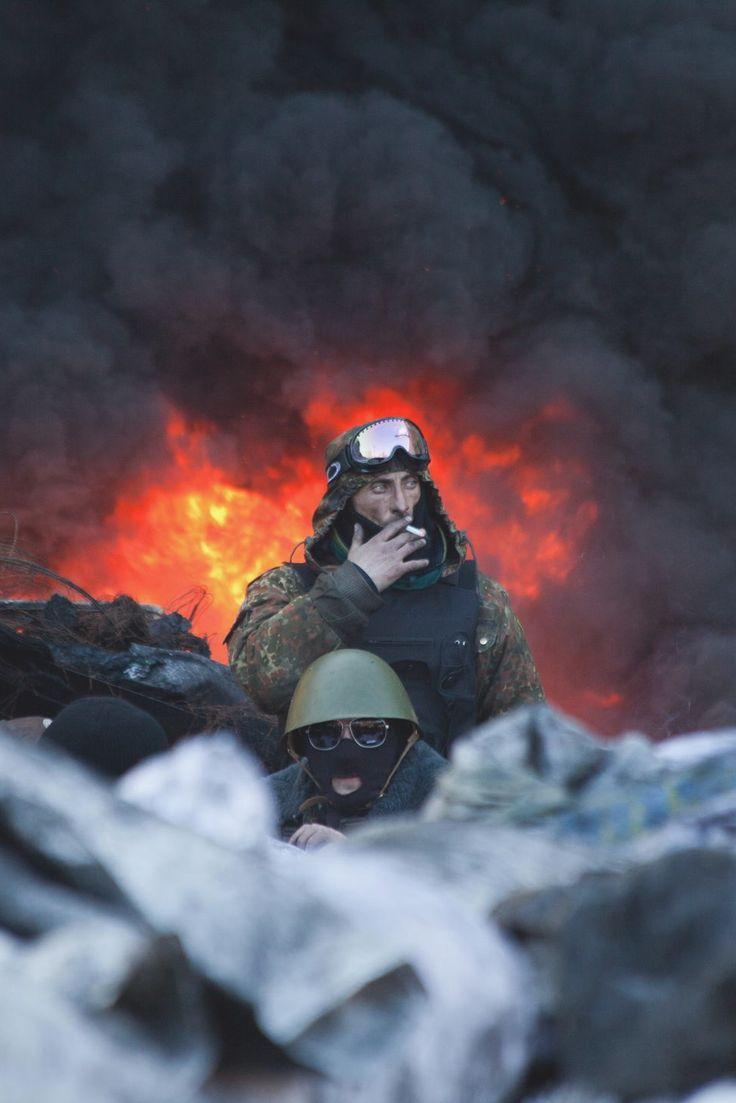 Kyiv In Flame- (via)