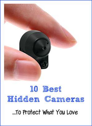 Covert Spy Cameras - Best Hidden Cameras And Tips On Hiding Them