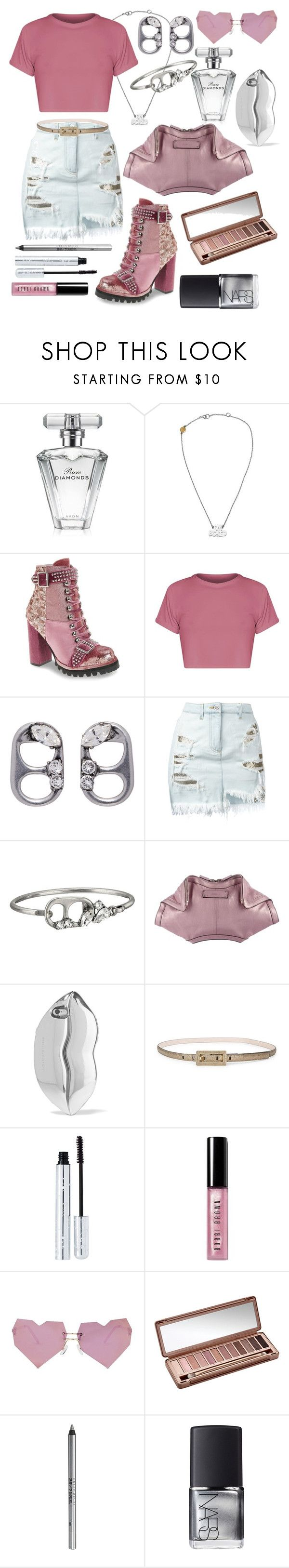 """""""Those Boots Though"""" by girlygorgeousness ❤ liked on Polyvore featuring Avon, Marc by Marc Jacobs, Jeffrey Campbell, Marc Jacobs, Versus, Alexander McQueen, STELLA McCARTNEY, Calvin Klein, 100% Pure and Bobbi Brown Cosmetics"""