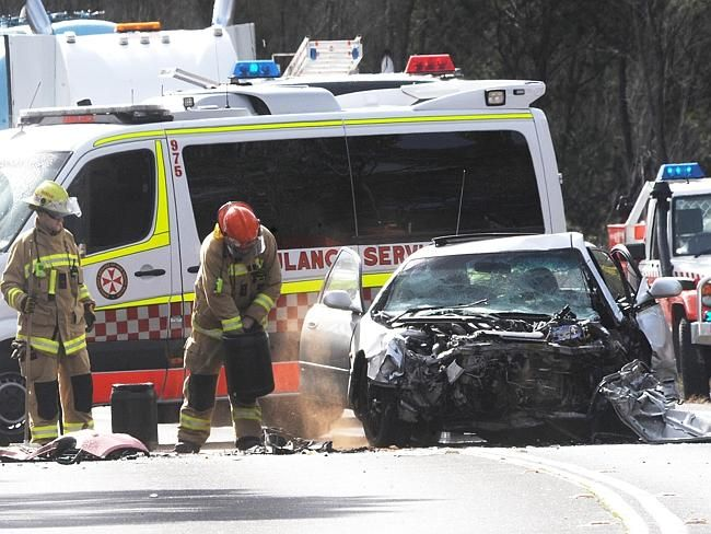 A two car crash on Picton Rd, Wilton has claimed the lives of two people Picture: Simon B