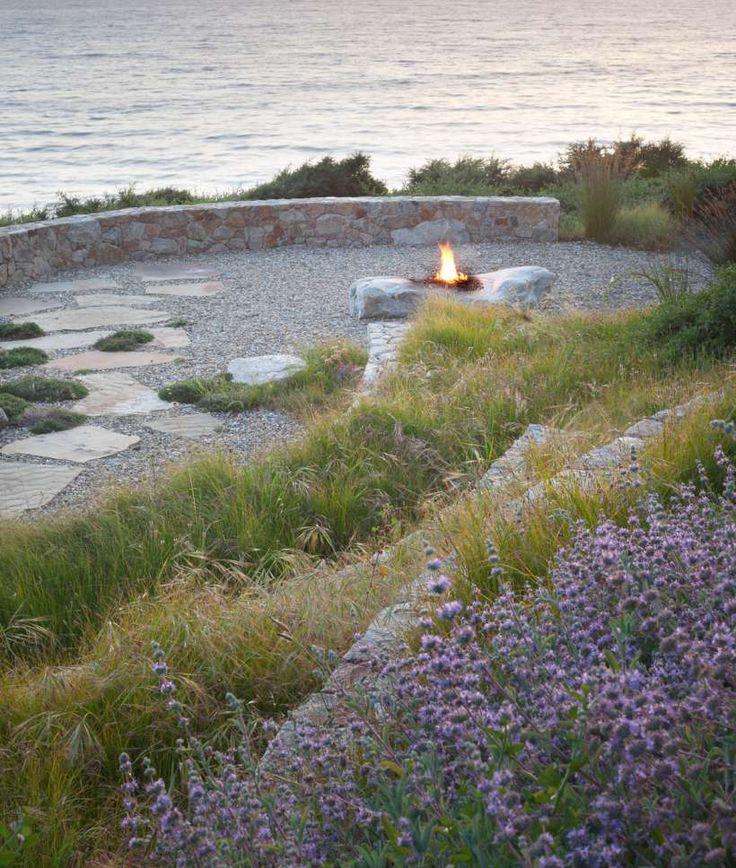 Landscape designer Bernard Trainor.