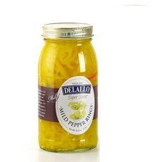 De Lallo Mild Banana Pepper Rings (6x25.5Oz)