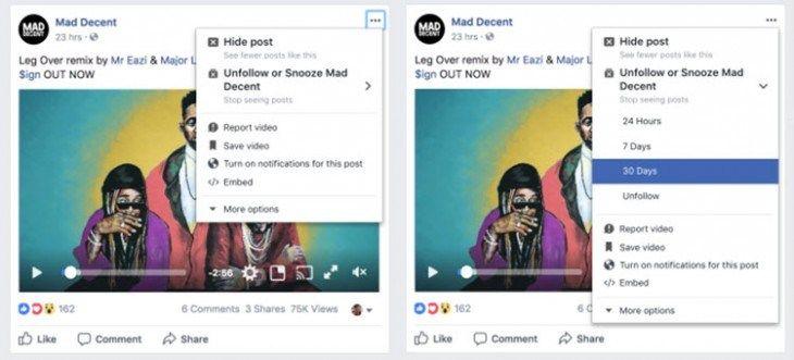 Facebook evalúa una nueva función que facilita bloquear temporalmente contactos o páginas