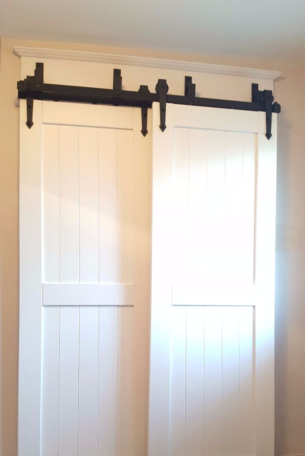 bypass barn door hardware easy to install canada - Barn Doors For Homes