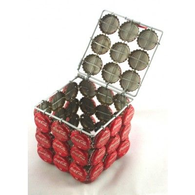 Coca Cola Bottle Top Trinket Box.