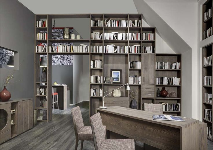 Perfect home library, presented at @imm cologne 2016, designed by Klose #HomeOffice