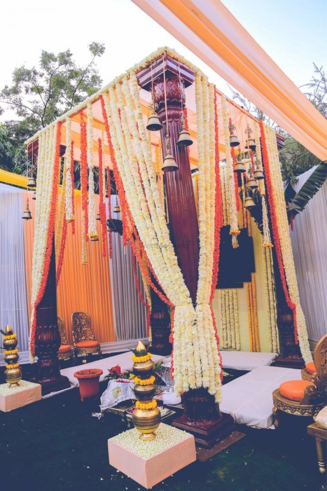 Best South Indian Mandaps For An Outdoor Wedding!
