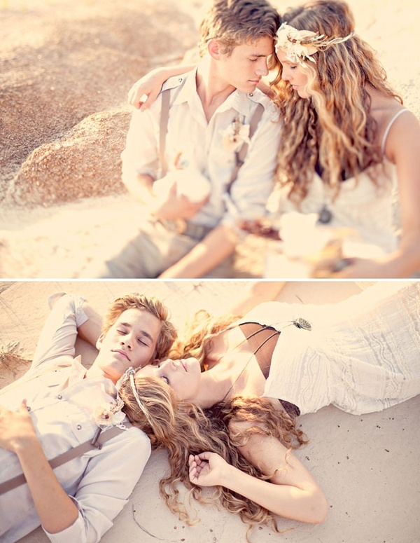 Boho beach wedding follow my board for more fiji wedding ...