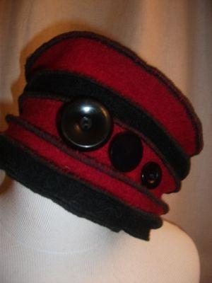 Chapeaux Zébulons - - Vous créez avec de la feutrine ou de la laine bouillie