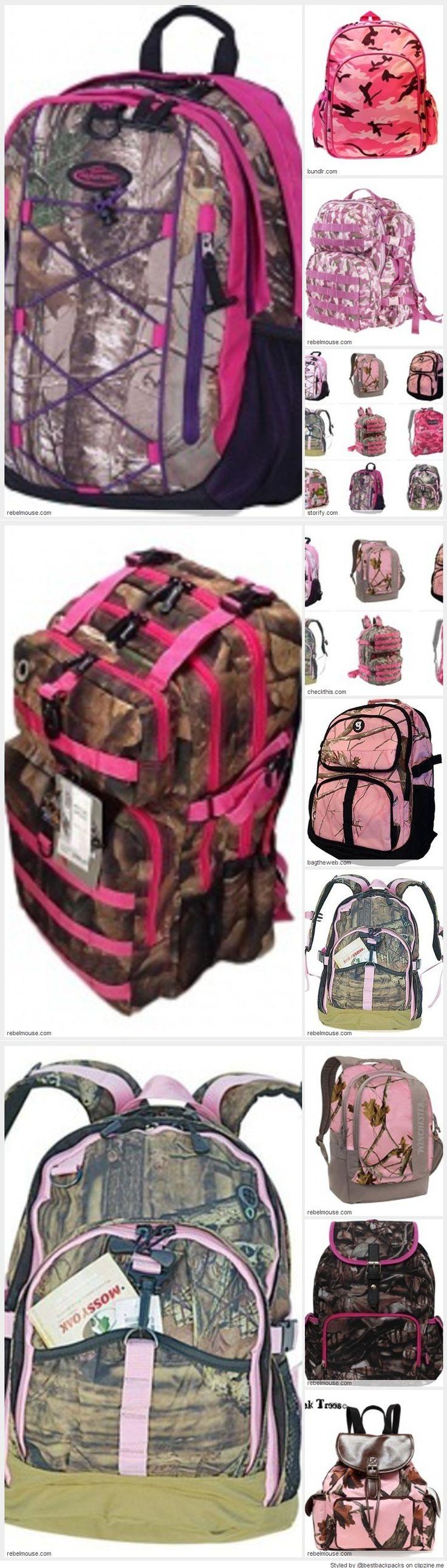 Best Pink Camo Backpacks for School