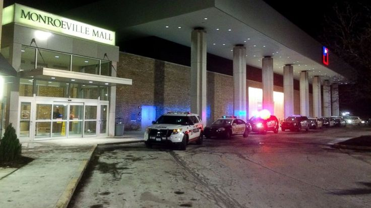 Three people were shot at the Monroeville Mall outside Pittsburgh, Pa., police said.