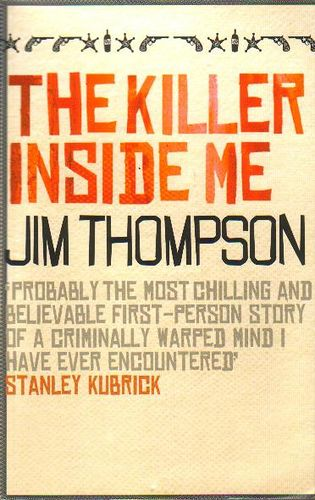 The Killer Inside Me.   First person account from small town deputy, who moonlights as a serial killer