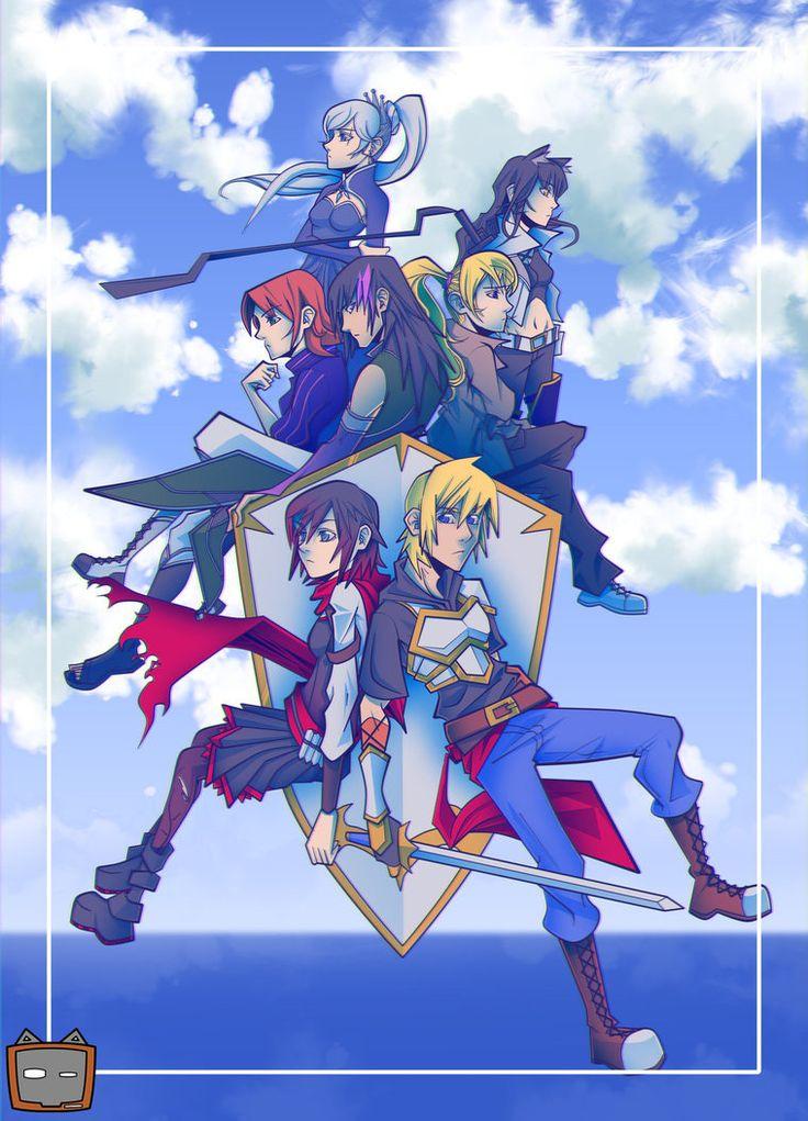 RWBY X Kingdom Hearts II by kats07.deviantart.com on @DeviantArt