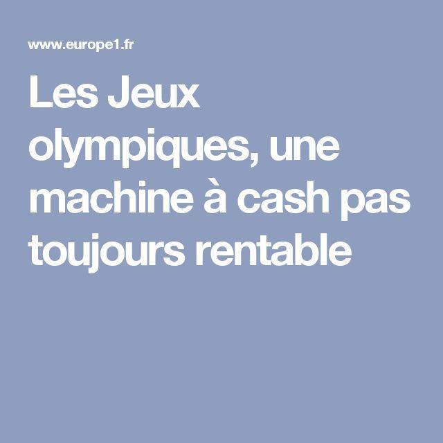 Les Jeux olympiques, une machine à cash pas toujours rentable