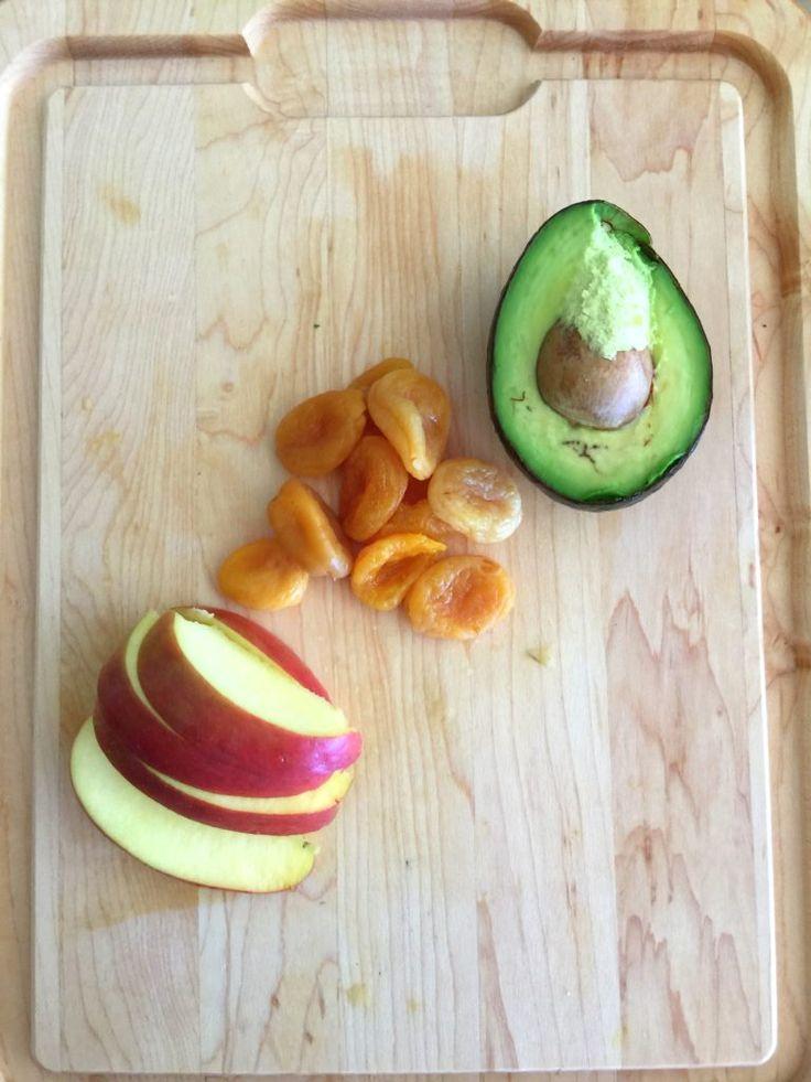 Avocado + Apricot + Apple baby food recipe