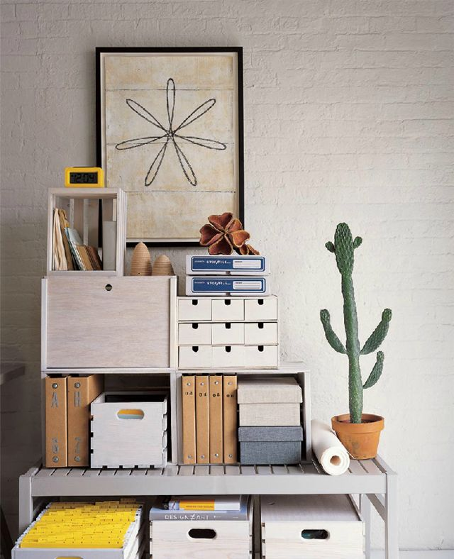 """Think I would have taken the bottom """"arm"""" off the cactus.  embroider a spirograph doodle?  might be kinda fun.: Ideas, Organization, Inspiration, Offices, Workspace, Interiors, Organize"""