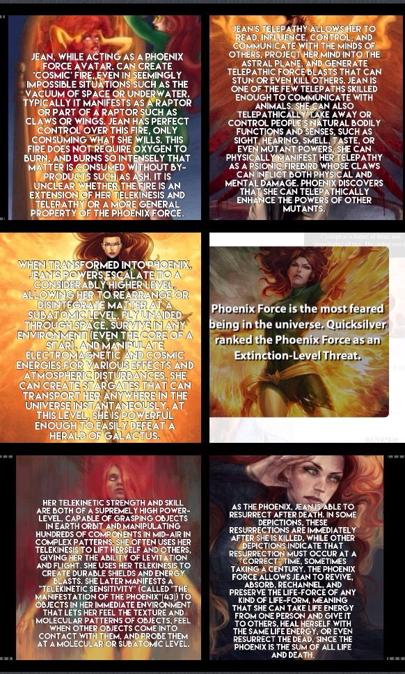 Jean grey. Dark Phoenix facts marvel comics