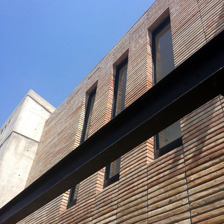 Casa AB 2017 by e|arquitectos; Detail - South Facade