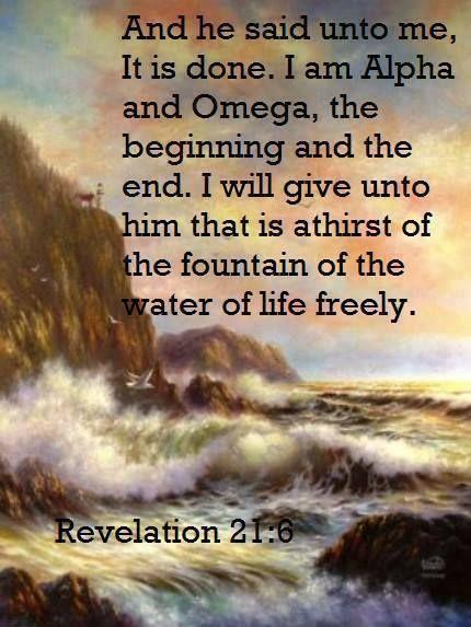 KJV Book Of Revelation with pictures site:pinterest.com   Revelations 21:6 KJV   Book of Revelations/Apocalipsis   Pinterest   I ...