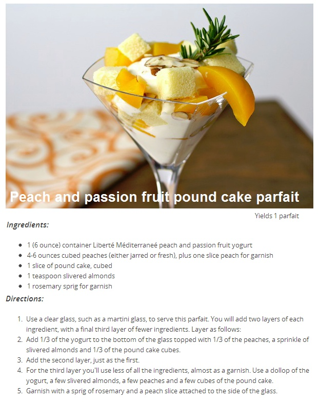 lemon pound cake parfait recipes dishmaps lemon pound cake parfait ...